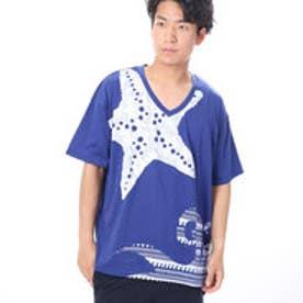 【チャイハネ】ギャラリーメンズTシャツ ブルー
