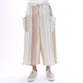 【チャイハネ】yul 南インド綿ドビー織りMEN'Sパンツ ホワイト