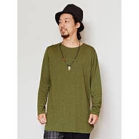 【チャイハネ】yul プレーンMEN'S Tシャツ グリーン
