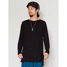 【チャイハネ】yul プレーンMEN'S Tシャツ ブラック