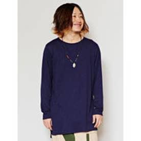 【チャイハネ】yul プレーンMEN'S Tシャツ ネイビー