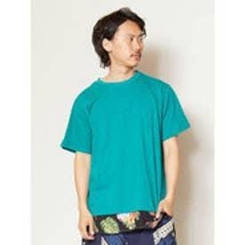 【チャイハネ】フェイクレイヤードメンズTシャツ グリーン