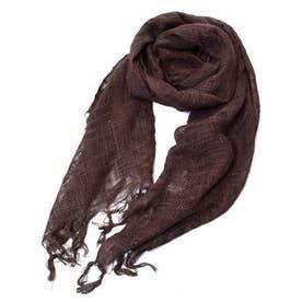 【チャイハネ】インド綿100% カティンストール(ユニセックス) ブラウン