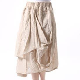 【チャイハネ】yul アシンメトリースカート ホワイト