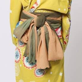 ◆【チャイハネ】グラデーション浴衣帯(KHAKI) カーキ