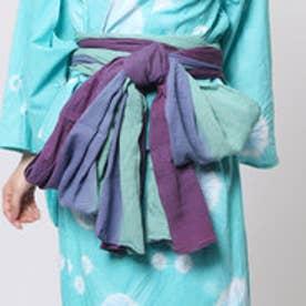 ◆【チャイハネ】グラデーション浴衣帯(SKY BLUE) スカイブルー