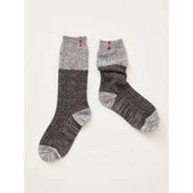 【チャイハネ】テープルーズソックス 靴下23~25cm ブラック