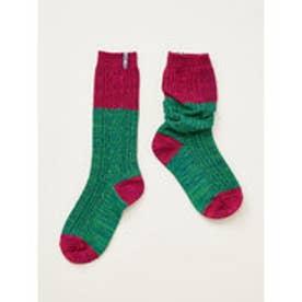 【チャイハネ】テープルーズソックス 靴下23~25cm ピンク