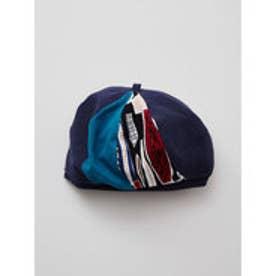 【チャイハネ】モナカベレー帽 ネイビー