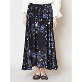 【チャイハネ】星空スカート ブラック
