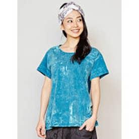 ◆【チャイハネ】バザールTシャツ ターコイズブルー