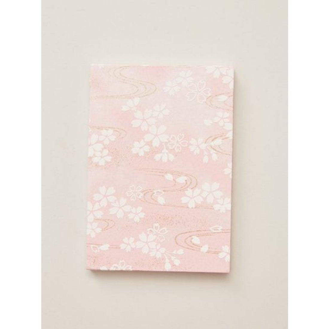 【岩座】友禅御朱印帳 / 桜 ライトピンク