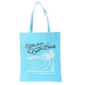 【Kahiko】チャリティービーチトートバッグ / Keep the Beautiful Nature Hanauma Bay ブルー