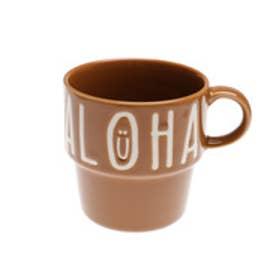【kahiko】ALOHAスタッキングマグカップ ブラウン