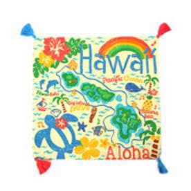 【kahiko】HAPPY HAWAII クッションカバー イエロー