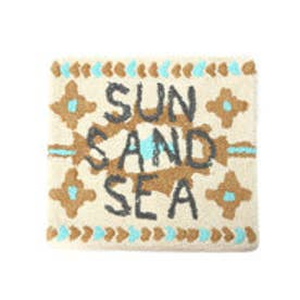 【kahiko】オルテガ柄クッションカバー SUN SAND SEA ホワイト