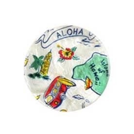 【kahiko】ALOHAカピスシェルコースター ホワイト系その他
