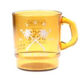 【kahiko】パームツリークロス★プラスタッキングマグカップ ブラウン