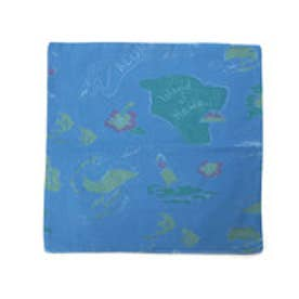 【kahiko】Hawaiian Map クッションカバー ネイビー