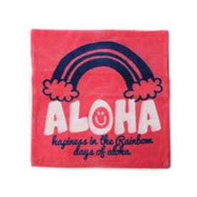 【kahiko】ALOHAコーデュロイクッションカバー ピンク