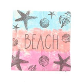 【kahiko】グラデーションビーチクッションカバー ピンク