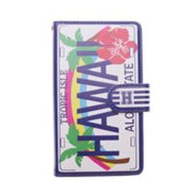 【Kahiko】多機種対応 手帳型スマートフォンケースLサイズ HAWAIIAN その他3