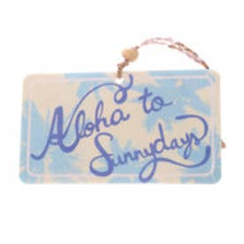 【Kahiko】HAWAIIAN SIGNBOARED AIR FRESHENER ホワイト×ブルー