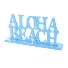 【Kahiko】ALOHA BEACH スタンドオーナメント ブルー