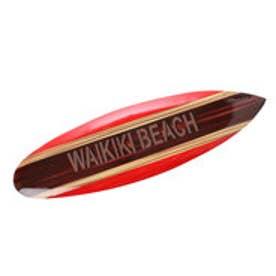 【Kahiko】クラシックサーフボードオーナメント50cm レッド