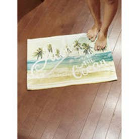 【Kahiko】ALOHA PHOTOラグマット約45×65cm ミント