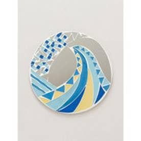 【Kahiko】ハワイアンモザイクミラーオーナメント ブルー