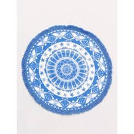 【Kahiko】ビーチマンダラサークルプレイスマット ホワイト×ブルー