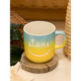 【Kahiko】ALOHAグラデーションマグカップ スカイブルー
