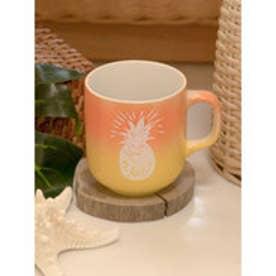 【Kahiko】ALOHAグラデーションマグカップ オレンジ