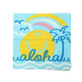 【kahiko】ALOHAニコクッションカバー ブルー
