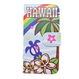 【kahiko】手帳型iPhone6/6s用スマホケース Hawaiian アクア
