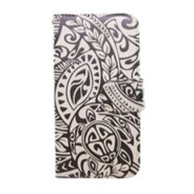 【kahiko】手帳型iPhone6/6s用スマホケース Hawaiian ブラウン×イエロー