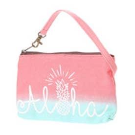 【Kahiko】Aloha グラデーションバッグインバッグ ピンク