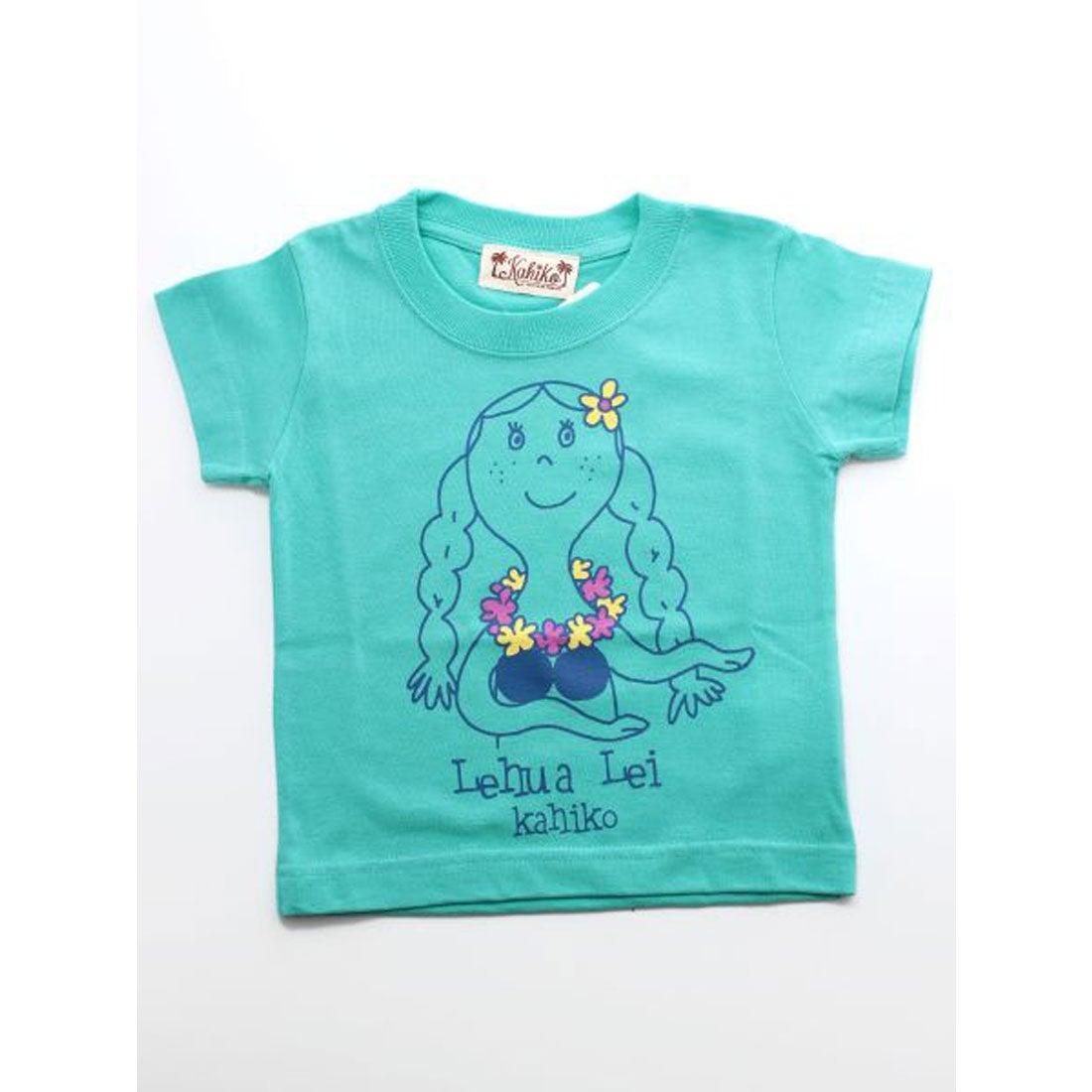 【kahiko】マハロメレKID'S Tシャツ90cm ブルー