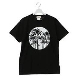 【Kahiko】ALOHA HAWAII パームツリーメンズTシャツL ブラック