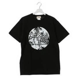 【Kahiko】Surf Aloha ロゴメンズTシャツL ブラック