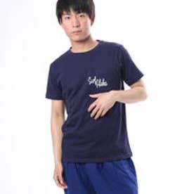 【Kahiko】Surf Aloha メンズポケットTシャツM ネイビー