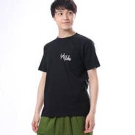 【Kahiko】Surf Aloha メンズポケットTシャツL ブラック