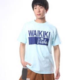 【Kahiko】ワイキキメンズTシャツL ブルー