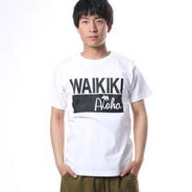 【Kahiko】ワイキキメンズTシャツM ホワイト