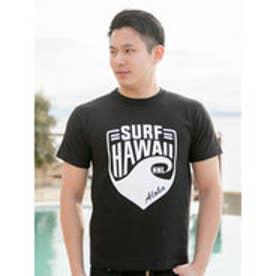 【Kahiko】SURF HAWAII メンズTシャツL ブラック