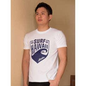 【Kahiko】SURF HAWAII メンズTシャツL ホワイト