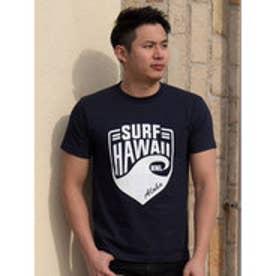 【Kahiko】SURF HAWAII メンズTシャツM ネイビー