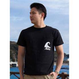 【Kahiko】AlohaナルーメンズポケットTシャツL ブラック