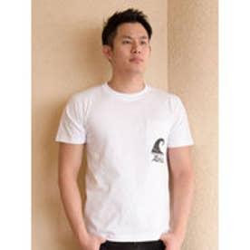 【Kahiko】AlohaナルーメンズポケットTシャツL ホワイト